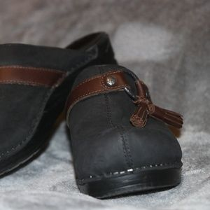 Shoes - Dansko Shandi Tassle Clogs